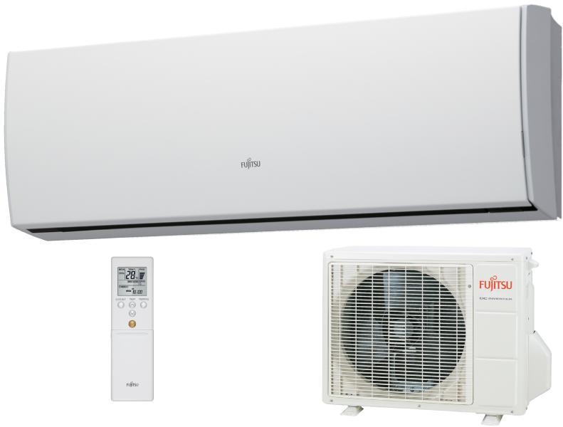FUJITSU ASYG09LUCA/AOYG09LUC INVERTERES SPLIT KLÍMA / 2,5 kW / A++ / R410A